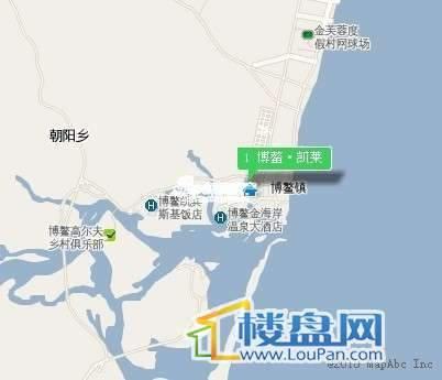 博鳌凯莱温泉假日交通图