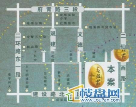 春熙苑交通图