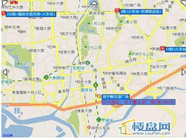 丽景阁交通图
