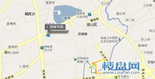 榆海华庭交通图
