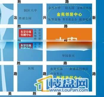 耀江商厦菁英公寓交通图