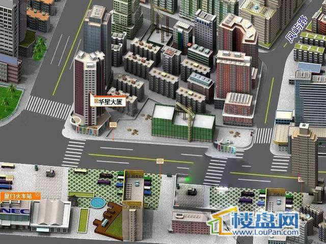 华星大厦交通图