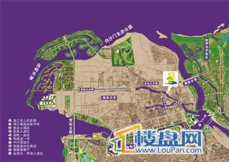 碧海云天交通图