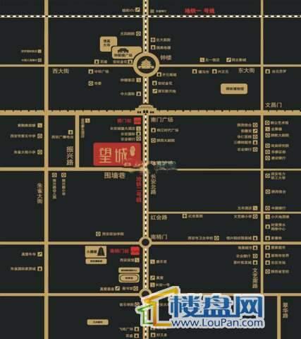 南门望城交通图