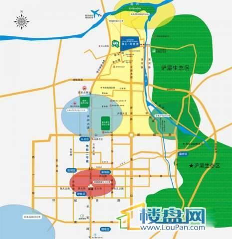 辰宫双河湾交通图