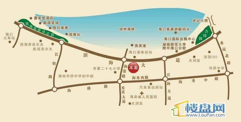 福隆广场3期·海福湾交通图