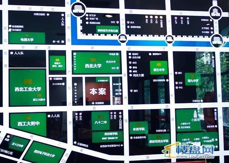 东泰城市之光交通图