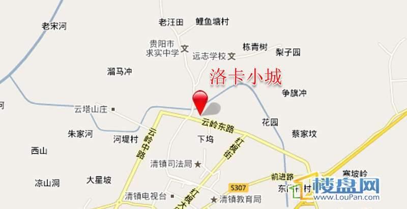 洛卡小城交通图