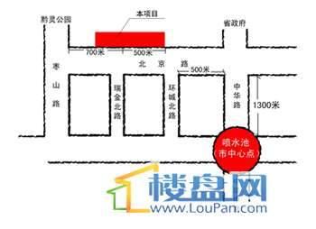 银海元隆广场交通图