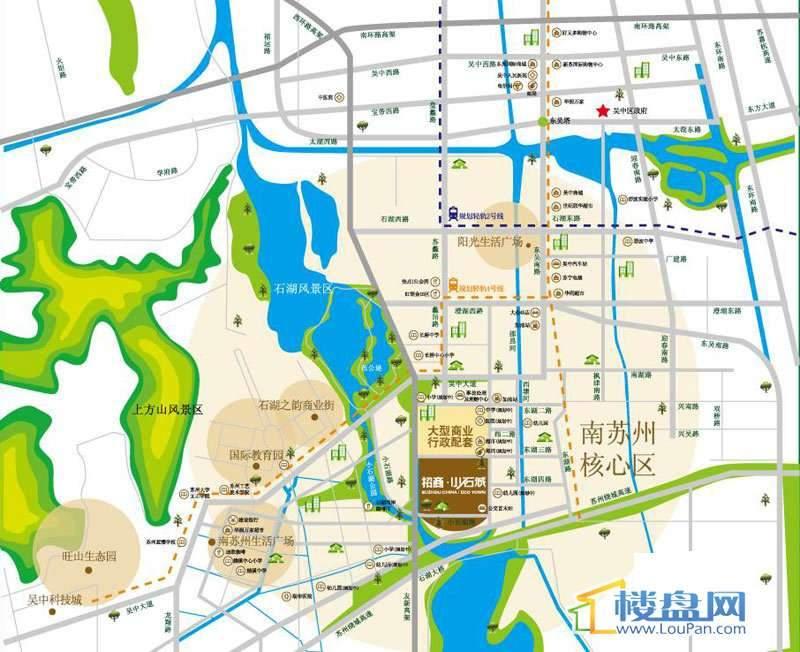 小石城2期交通图