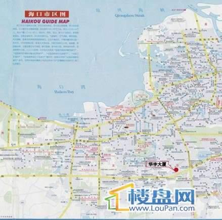 城品尚岛 交通图
