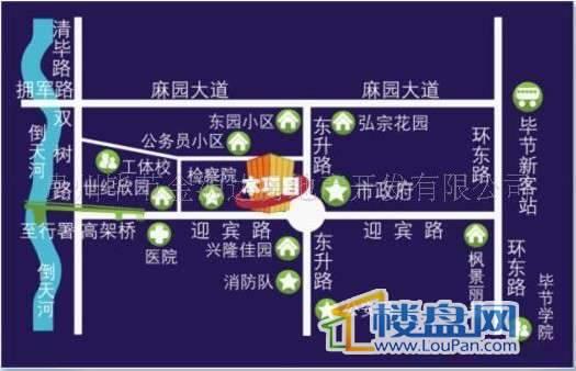 时代广场交通图