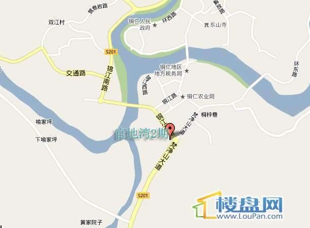 官地湾2期交通图