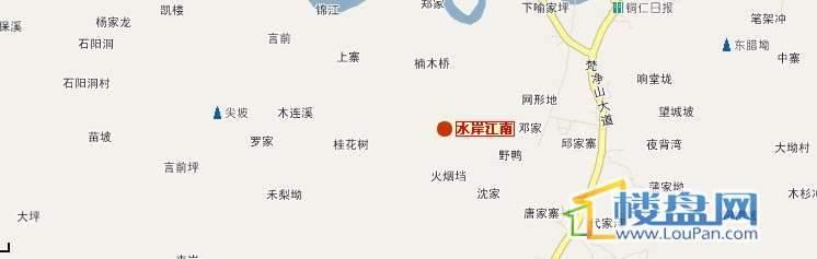 水岸江南 交通图