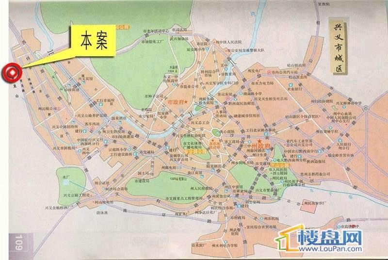 三和新城交通图