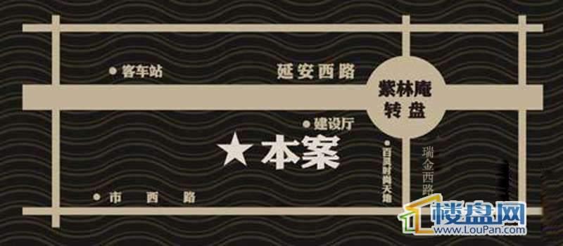 金宇紫林广场交通图