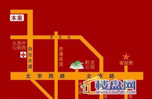 光明桂花园交通图