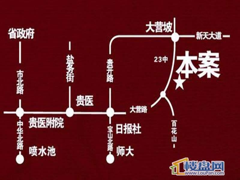 紫金庄园交通图