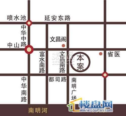 亨特国际金融中心交通图