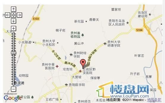 黔灵半山交通图