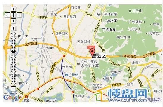 华颐蓝天交通图