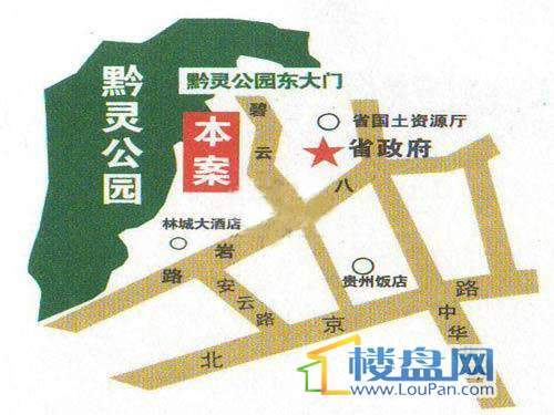 碧云山居交通图