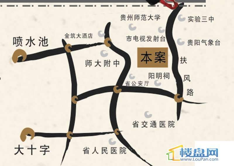 龙砚东山交通图