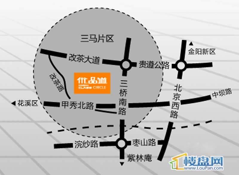 星宸国际交通图