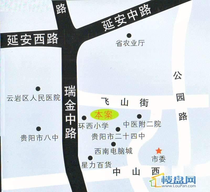 祥源大厦交通图