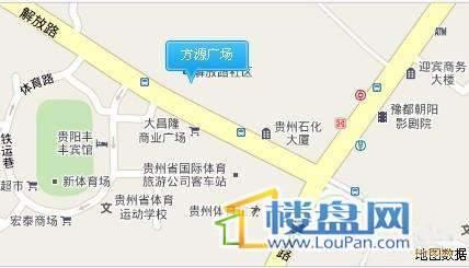 方源广场交通图