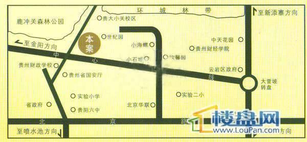 海泓兰馨苑交通图