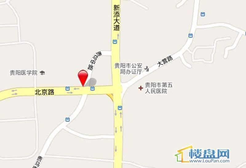 北京路一号交通图