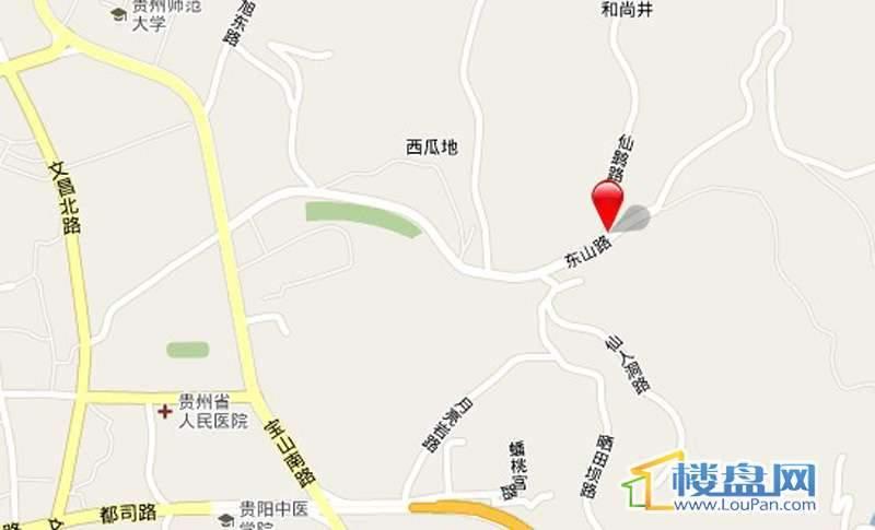 锦东叠彩城交通图