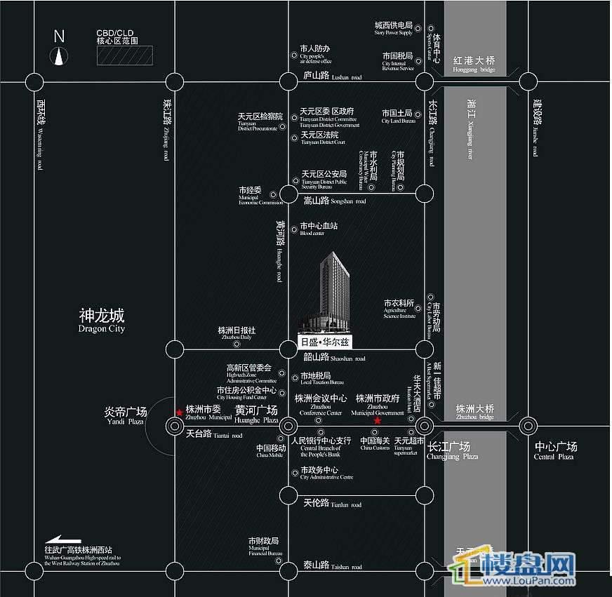 日盛•华尔兹交通图