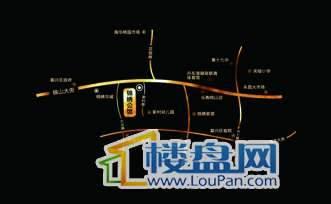 锦绣公馆交通图