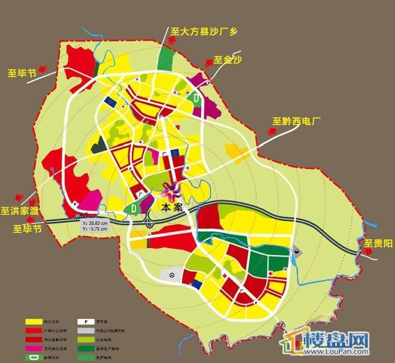华辰尚都国际广场交通图