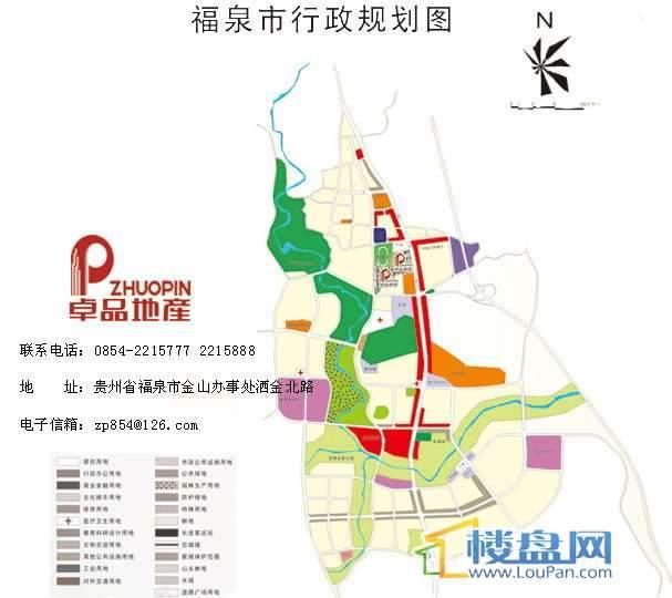 福泉花园交通图