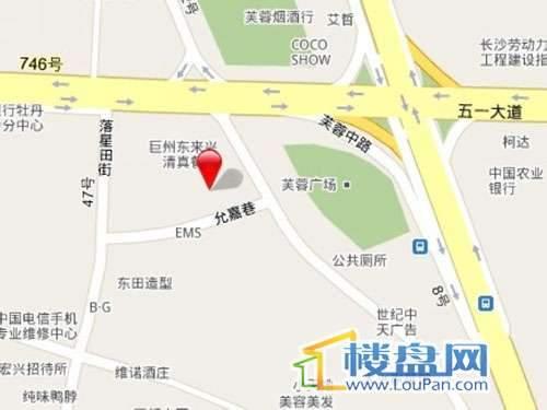 泰贞国际金融中心交通图