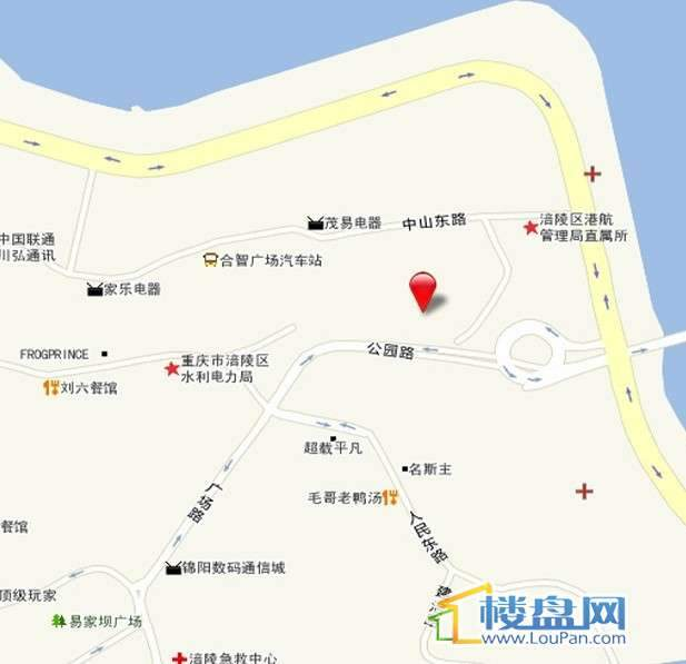 御锦江都交通图