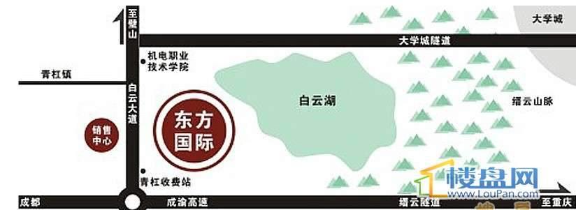 桓大东方国际位置图