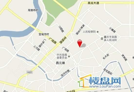 东邦城市广场交通图