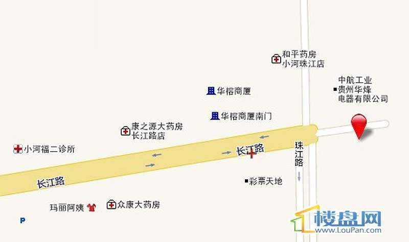 恒森自在城 交通图