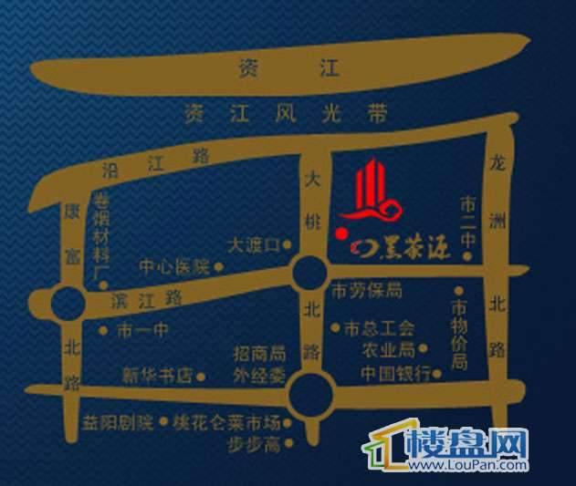 碧波豪苑·外滩交通图