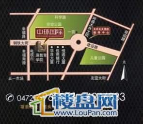 中环国际三期交通图