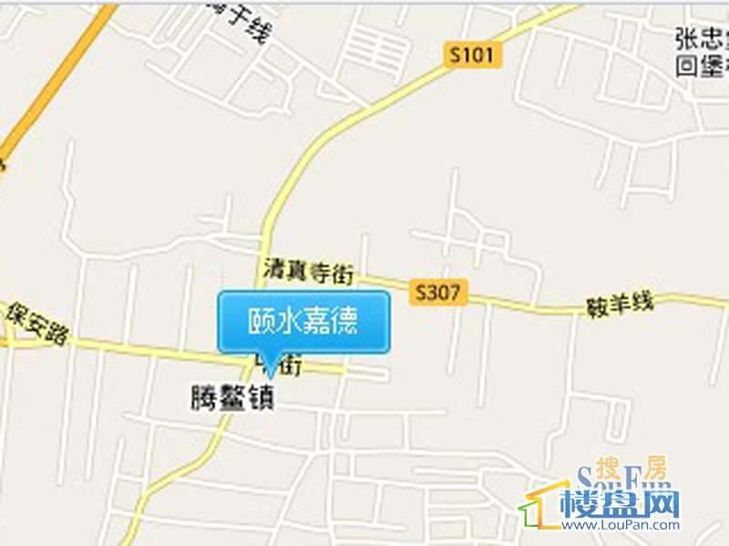 颐水嘉德交通图