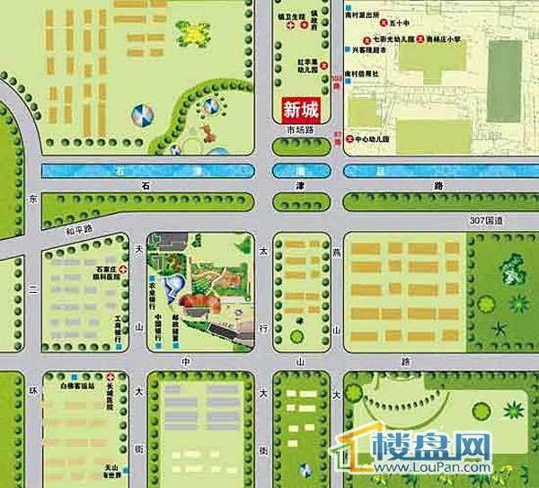 新城交通图