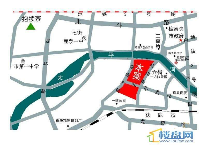 蓝湾半岛交通图