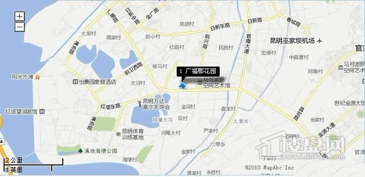广福郡花园交通图