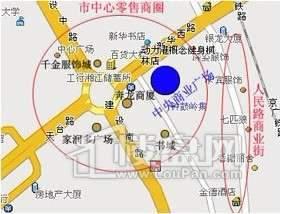 中央商业广场交通图