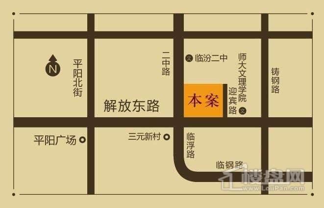 东方亚特兰交通图